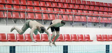 """Kauno """"Girstučio"""" baseinas duris atvers birželio pabaigoje, jame dirbs 12 plaukimo trenerių"""