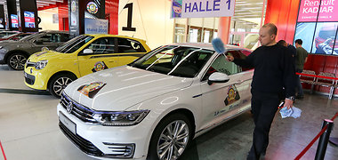 Europos metų automobilio 2015 finalas Ženevoje
