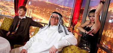 Verslininkas Eugenijus Andrulis virto arabų šeichu