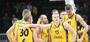 """FIBA Europos taurėje – pirmoji """"Šiaulių"""" pergalė"""