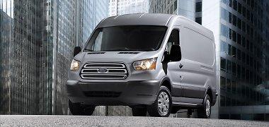 """""""Ford"""" komerciniai automobiliai – perkamiausi Europoje"""