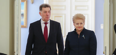 D.Grybauskaitės ir A.Butkevičiaus susitikimas planuojamas trečiadienį