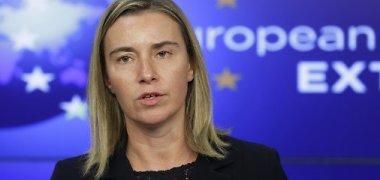 """Federica Mogherini demonstruoja optimizmą: """"Tikimės, kad Rusija vėl bendradarbiaus"""""""