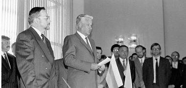 Vytautas Landsbergis apie Borisą Jelciną: padorus žmogus, kuris norėjo būti teisingas Lietuvai