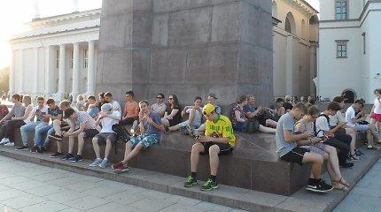 Pokemonų gaudytojai užėmė žymias Vilniaus vietas