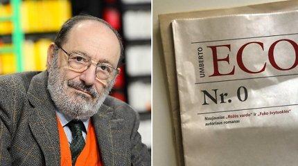 """Knygos recenzija. Umberto Eco """"Nr. 0"""""""