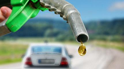 Rusijos benzino gamintojai kainas rugsėjį padidino 2,5 proc.