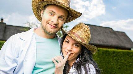Sugrįžimas į televiziją aktorei Jūratei Budriūnaitei-Kamrazer prasidėjo karštais bučiniais