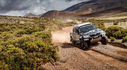 Benediktas Vanagas parduoda Dakaro automobilį