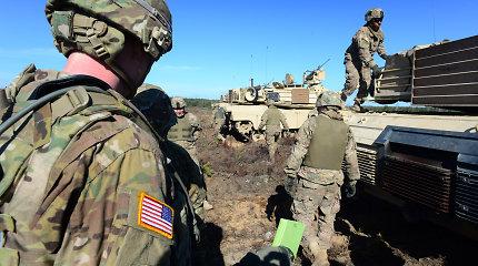 JAV svarsto galimybę į Baltijos regioną siųsti papildomai savo karių