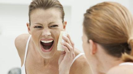 Kokias problemas sumažina odos šveitimas?