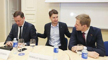 Remigijus Šimašius ir Artūras Zuokas vėl susipešė eteryje – ir dėl Ukrainos, ir dėl partijos skilimo