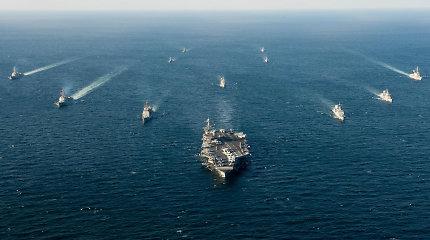 Ramiajame vandenyne – didžiausios istorijoje karinės pratybos