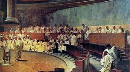 Mantas Adomėnas: Rinkimų kampanija – ko mus gali pamokyti Antika?