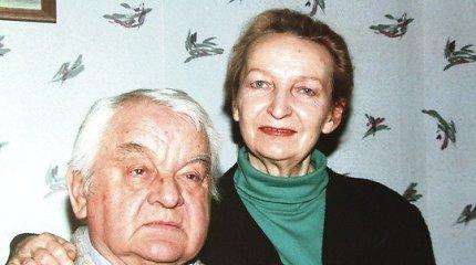 Mirė Kauno dramos teatro aktorė Danutė Juronytė
