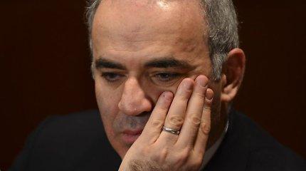Garis Kasparovas: Borisas Nemcovas atidavė savo kūną, širdį ir balsą Rusijai