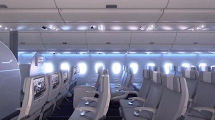 """""""Finnair"""" pademonstravo įspūdingą naujų lėktuvų dizainą"""