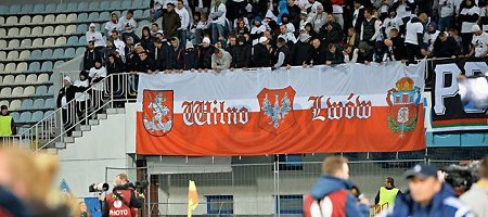 """""""Legia"""" sirgaliai ne tik pasisavino Vilnių ir Lvovą, bet ir skandavo """"Ruska k***a"""""""