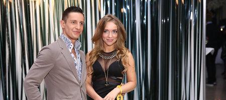 Moniką Šalčiūtę į TV3 sezono atidarymą atlydėjo šokėjas Stasys