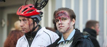 """Bėgime """"ZomBėk"""" – šimtai persirengusių zombių ir """"Anties"""" išzombinimo apeigos"""