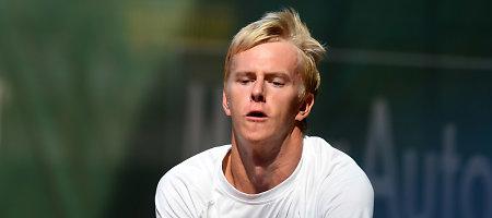 Taškus renkantis Lukas Mugevičius ATP klasifikacijoje kyla į viršų