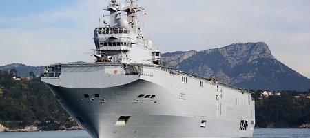 """Rusija priminė Prancūzijai laukianti sprendimo dėl """"Mistral"""""""