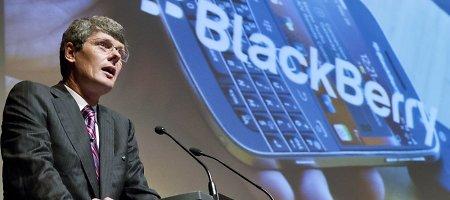 """""""BlackBerry"""" nestebino rinkas: užbaigė ketvirtį su pelnu"""