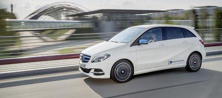 """Mercedes-Benz"" B klasės ""Electric Drive"" elektromobilio tarša mažesnė 64-iais proc."