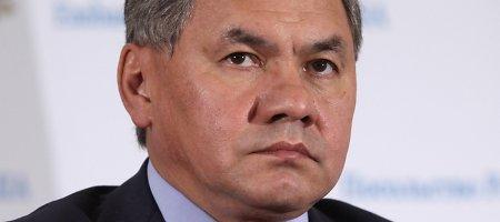 ES svarsto galimybę paskelbti Rusijos gynybos ministrą nepageidaujamu asmeniu