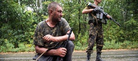 Ukraina neatitrauks savo pajėgų, kol visos šalys nenutrauks ugnies
