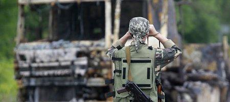 Luhanske teroristai apšaudo ATO pajėgas