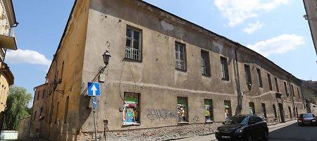 Buvusi venerinių ligų ligoninė Vilniaus Senamiestyje virs ištaigingu daugiabučiu ir biurais