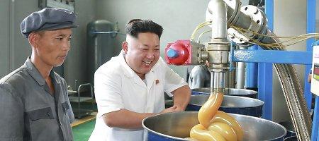 Kremliaus kvietimu Antrojo pasaulinio karo pergalę Maskvoje minės Kim Jong Unas
