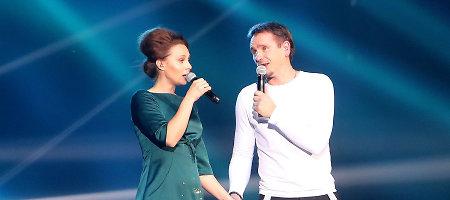 Marijono Mikutavičiaus koncerte Kaune – meilės duetas su Aiste Smilgevičiūte