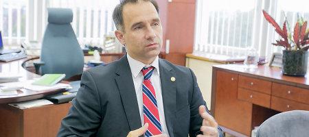 """Energetikos ministras Rokas Masiulis: """"Esame pasiruošę apsaugoti savo SGD terminalą"""""""