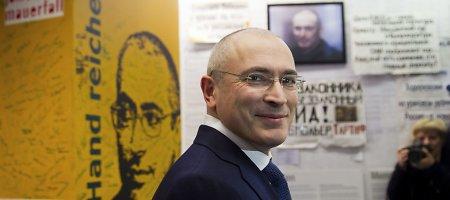 Michailas Chodorkovskis paskelbė, kad galėtų balotiruotis į Rusijos prezidentus