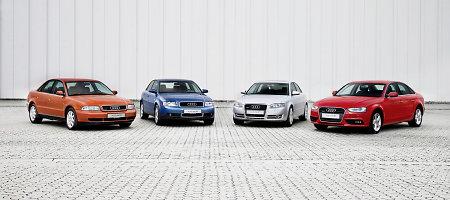 """""""Audi A4"""" švenčia dvidešimtmetį"""