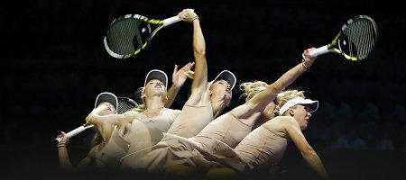Paaiškėjo baigiamojo WTA Championships serijos teniso turnyro pusfinalio poros