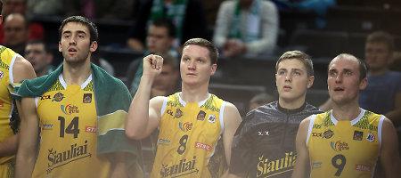 Dėl Baltijos krepšinio lygos taurės šiauliečiai kovos su latviais ir estais