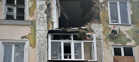Kremliaus teroristai siautėja toliau: persirengę Ukrainos karių uniformomis plėšia butus