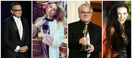 Skaudžiausios šių metų netektys Holivude