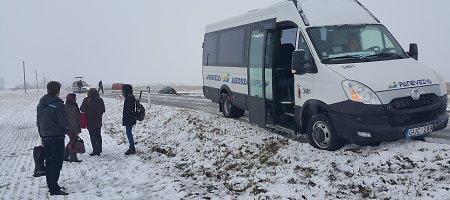 Netoli Šilutės į avariją pateko mikroautobusas su keturiais keleiviais