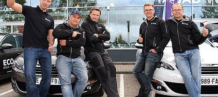 """Peugeot EcoCup"" startas Rygoje"