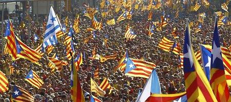 Katalonijos parlamentas priėmė įstatymą dėl nepriklausomybės referendumo
