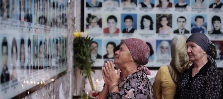 Dešimtmetis po Beslano tragedijos: aukų motinos nepamiršo Kremliaus vykdytų skerdynių