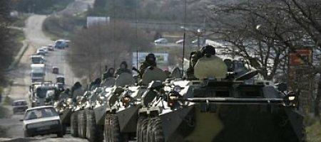 JAV: Rusijos pajėgos netoli Ukrainos yra galingesnės nei bet kada