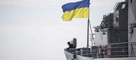 Ukrainos kariai kaunasi su Rusijos kariais dėl Luhansko oro uosto kontrolės