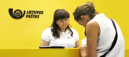 Valiutai keisti Lietuvos paštas ieškos per pusšimčio darbuotojų
