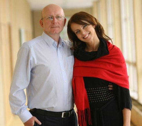 """""""Lietuvos ryto"""" televizijos nuotr./Arūnas ir Inga Valinskai"""