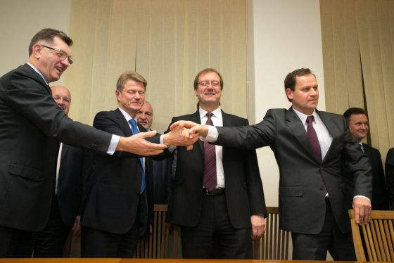 Andriaus Ufarto/BFL nuotr./Koalicija 2012 metų lapkritį